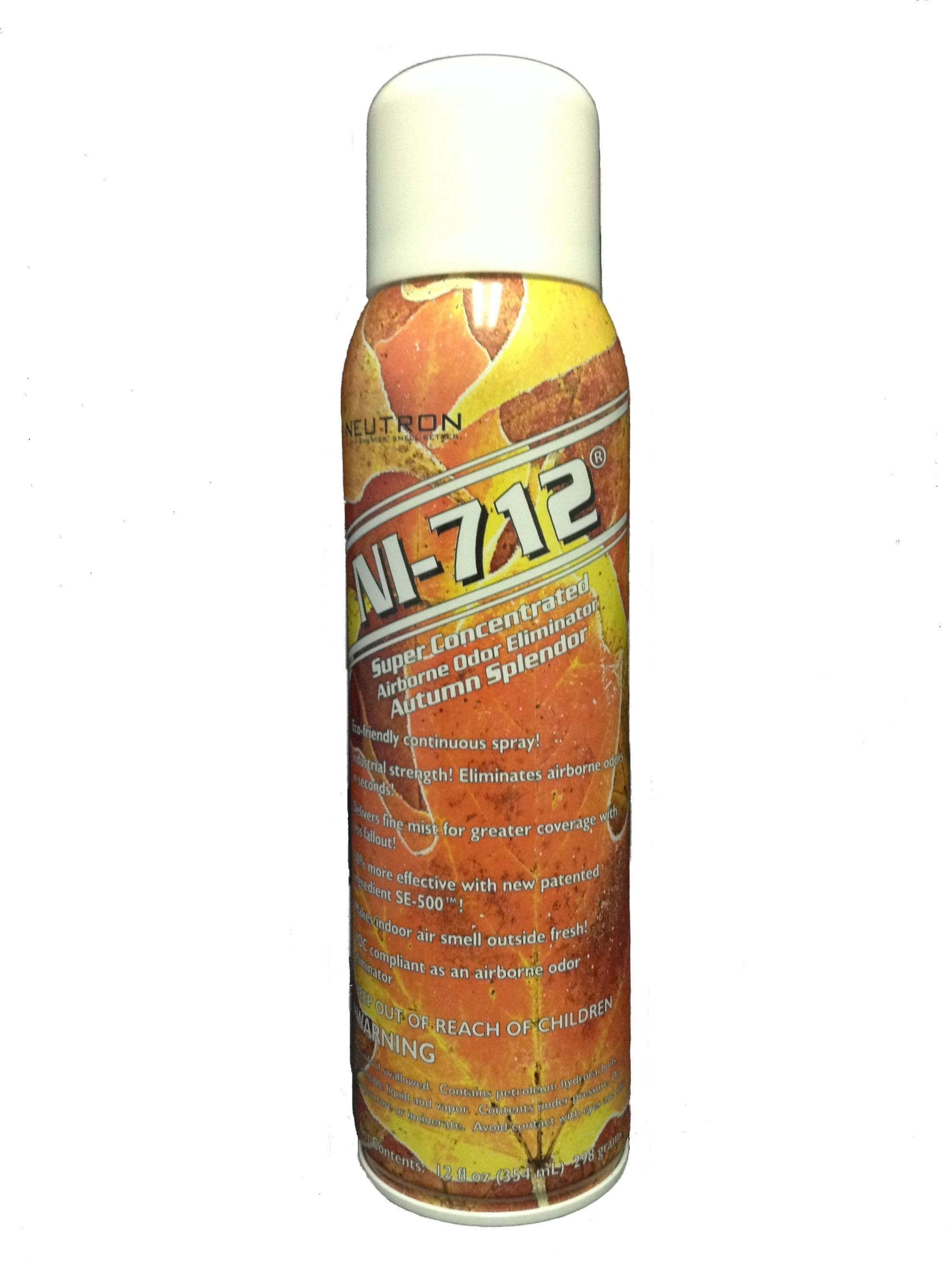 NI-712 Odor Eliminator, Autumn Splendor (1) 12 Fl Oz Continuous Spray