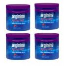 Arginine Infusion 4 Jars Natural Formula for Cardio Health (5,000mg L-arginine & 1,000mg L-citrulline Per Serving) Not Proargi 9